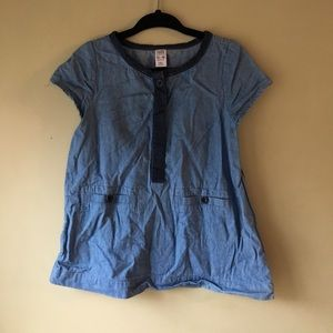 Chambray Dress Baby Gap Girls